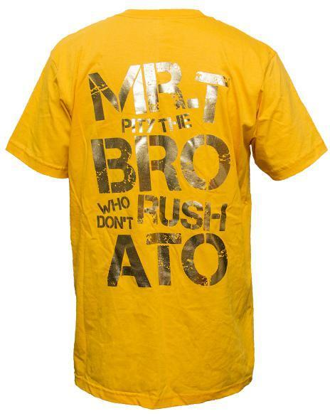 Alpha Tau Omega Mr T Tee-Adam Block Design