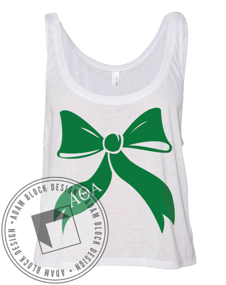 Alpha Theta Alpha Bow Tank-Adam Block Design