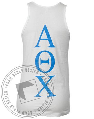 Alpha Theta Chi Day Tank-Adam Block Design