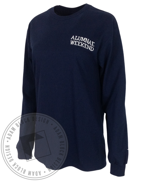Alpha Xi Delta Alumnae Weekend Longsleeve-Adam Block Design