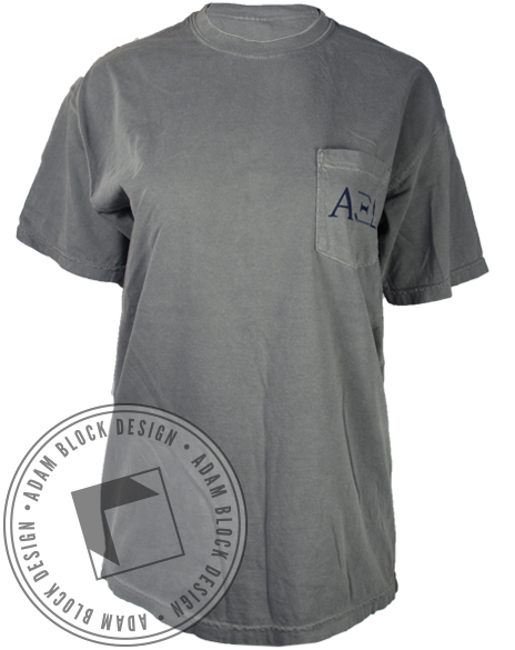Alpha Xi Delta Daddy Tee-Adam Block Design
