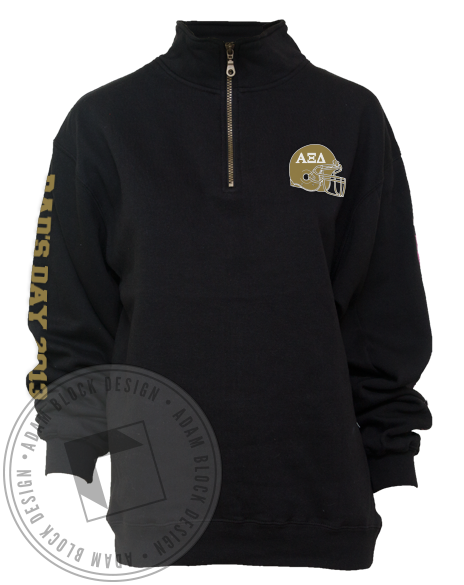 Alpha Xi Delta Dad's Day Pullover-Adam Block Design