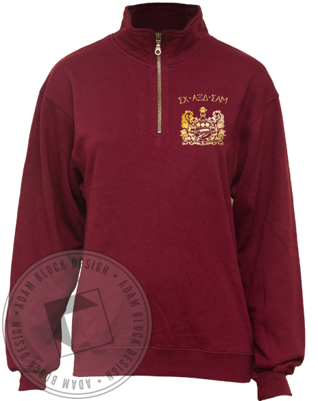 Alpha Xi Delta Homecoming Pullover-Adam Block Design