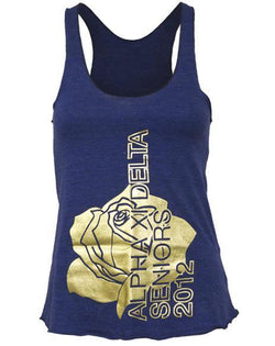 Alpha Xi Delta Rose Tank-gallery-Adam Block Design