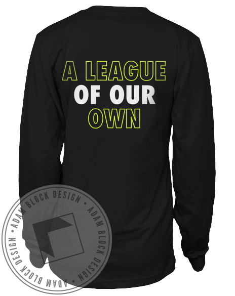 Alpha Xi Delta Rugby Long Sleeve Tee-Adam Block Design
