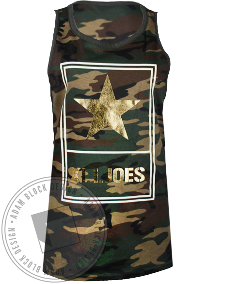 Alpha Xi Delta Xi.I. Joes Tank Top-Adam Block Design