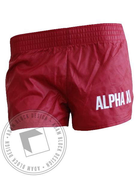 Alpha Xi Delta Shorts-Adam Block Design