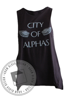 Alphas Rush Tank-Adam Block Design