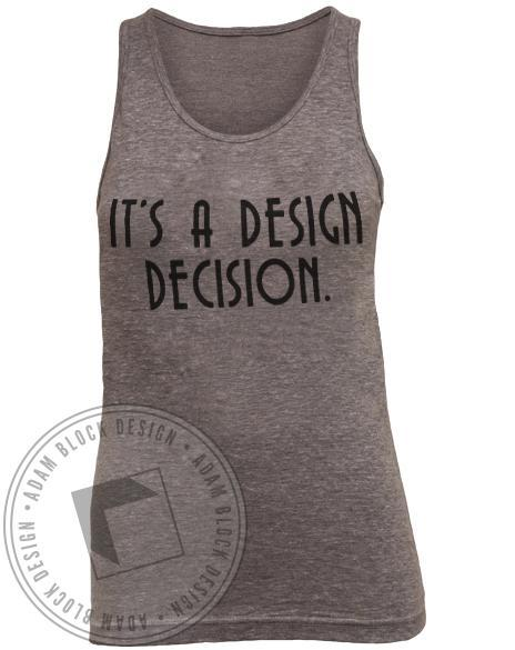 Apparel Design Club Words To Sew By Tank-Adam Block Design