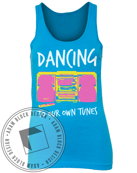 Beta Theta Pi Dancing Tank-Adam Block Design