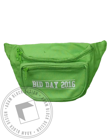 Bid Day Fannypack-Adam Block Design