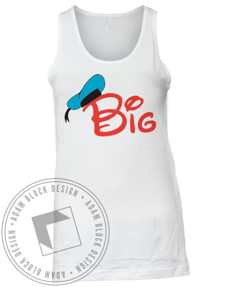 Big Hat Tank-Adam Block Design