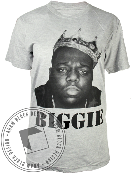 Biggie Sistah Tee-Adam Block Design