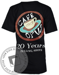 Cafe Opus Tee-Adam Block Design