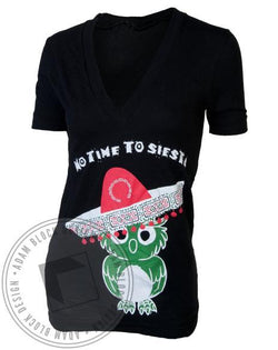 Chi Omega Fiesta Siesta V-Neck-gallery-Adam Block Design