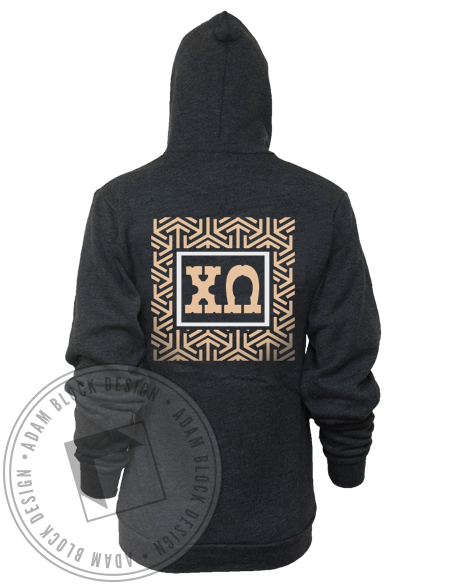 Chi Omega Formal Zip Up-gallery-Adam Block Design