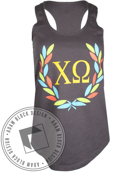 Chi Omega Greek Week Tank-gallery-Adam Block Design