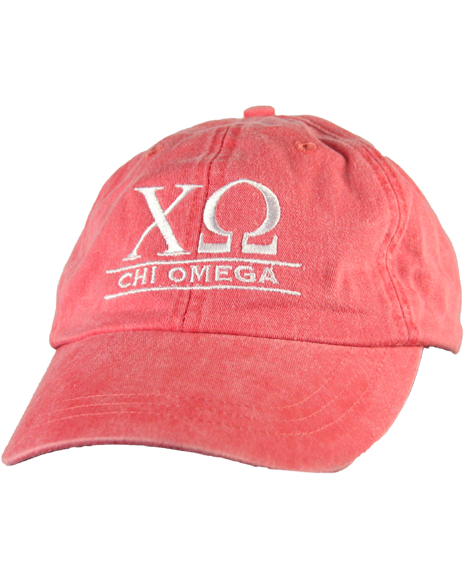 Chi Omega Hat - Custom Chi O Hat-gallery-Adam Block Design