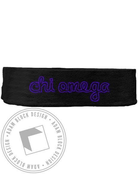 Chi Omega Headband-gallery-Adam Block Design