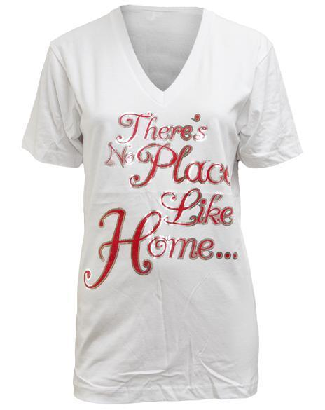 Chi Omega Home V-neck-Adam Block Design