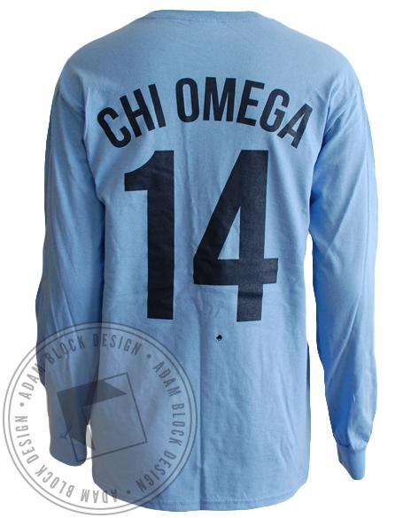 Chi Omega Kansas City Long Sleeve-Adam Block Design