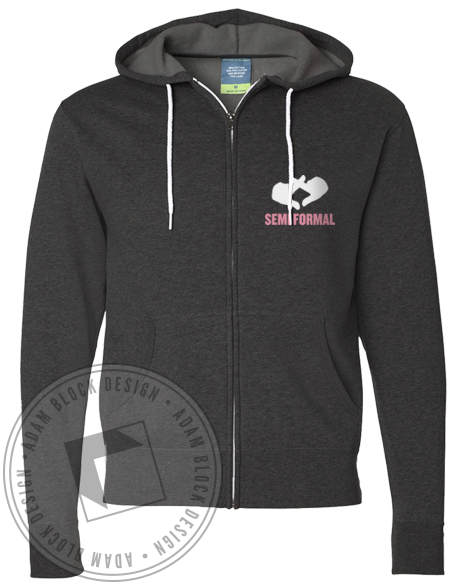Chi Omega Keeping Up Hoodie-Adam Block Design