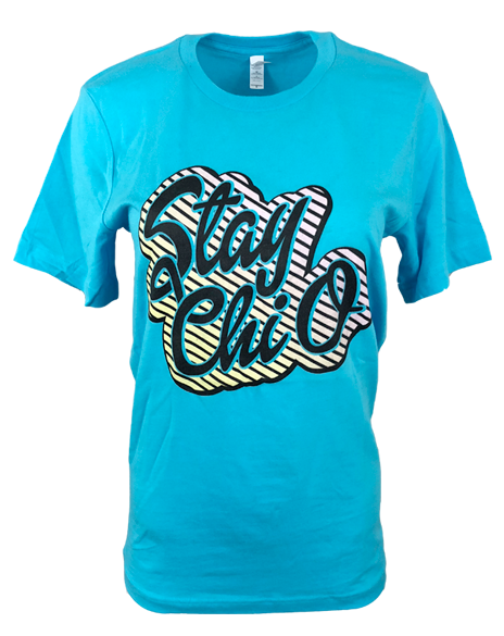 Chi Omega Stay Chi O Tee-Adam Block Design