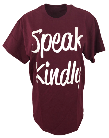 Chi Omega Symphony Speak Kindly Tee-Adam Block Design