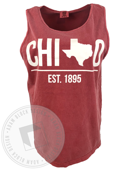 Chi Omega Texas Tank-gallery-Adam Block Design