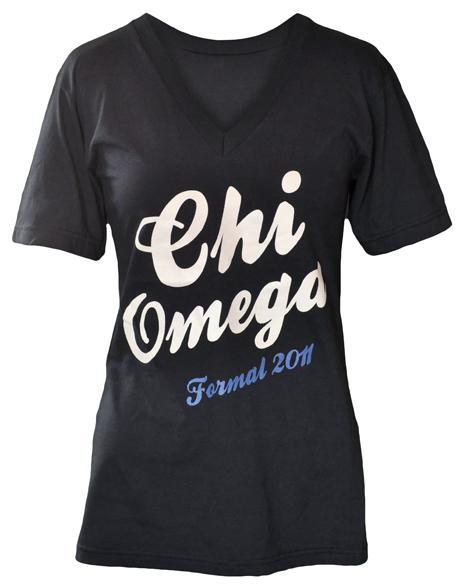 Chi Omega That's Amore V-Neck-Adam Block Design