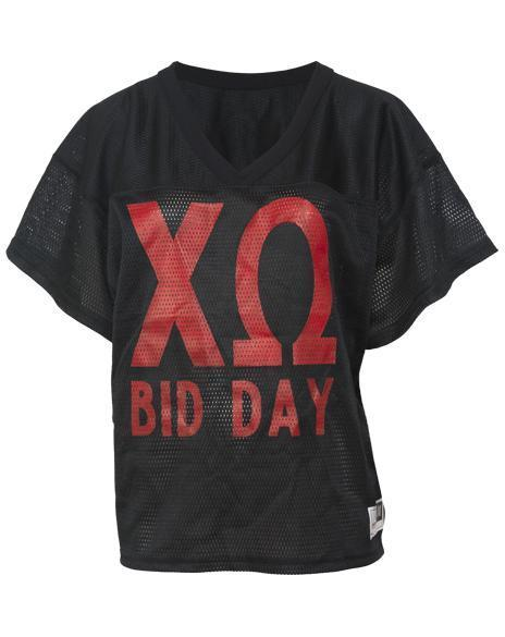 Chi Omega Went Chi O 11 Football Jersey-Adam Block Design