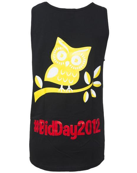 Chi Omega You Had Me Owl Tank-Adam Block Design