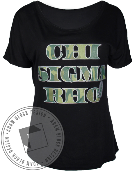 Chi Sigma Rho All You Can Be Tee-gallery-Adam Block Design