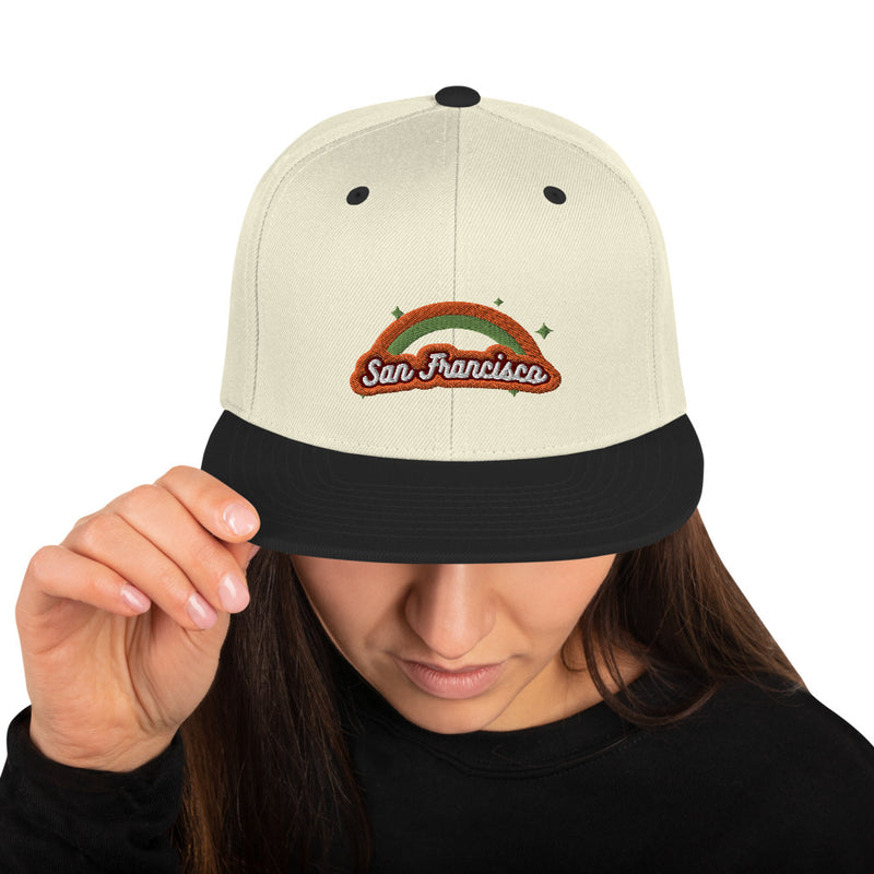 Retro San Francisco Snapback Hat