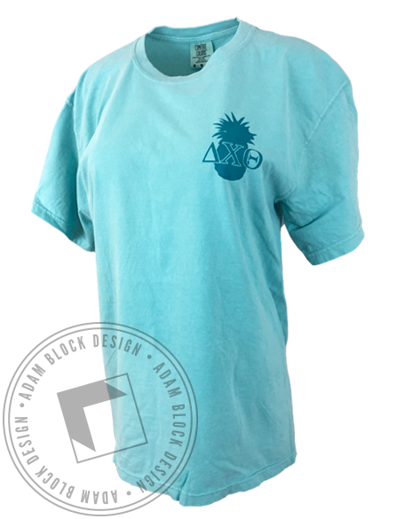 Delta Chi Theta Pineapple Tee-Adam Block Design
