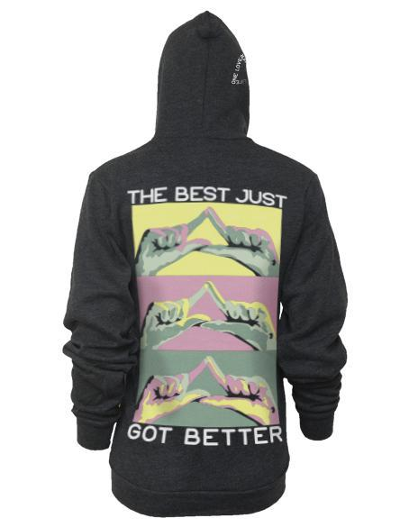 Delta Delta Delta Best Got Better Hoody-Adam Block Design