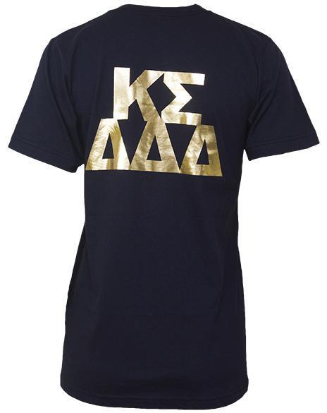 Delta Delta Delta & Kappa Sigma Greek Week T-Shirt-Adam Block Design