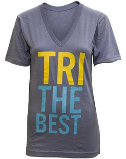 Delta Delta Delta Tri The Best V-Neck-gallery-Adam Block Design