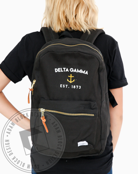 Delta Gamma Anchor 1873 Backpack-gallery-Adam Block Design