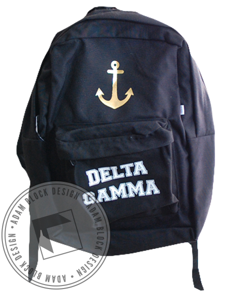 Delta Gamma Anchor Backpack-gallery-Adam Block Design