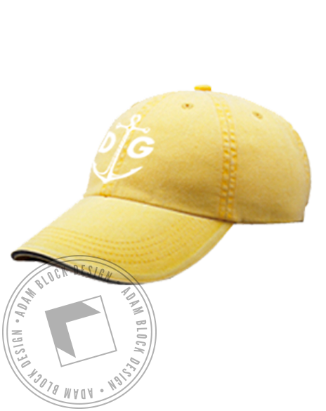 Delta Gamma Anchor Baseball DG Hat-gallery-Adam Block Design