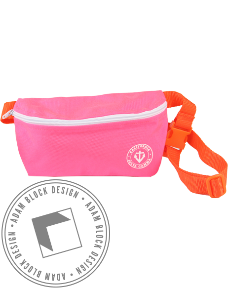 Delta Gamma Anchor Fannypack-gallery-Adam Block Design
