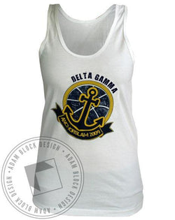 Delta Gamma Anchor Slam Tank-Adam Block Design