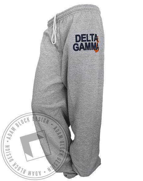 Delta Gamma Anchor Sweatpants-gallery-Adam Block Design