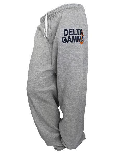 Delta Gamma Anchor Sweatpants-Adam Block Design