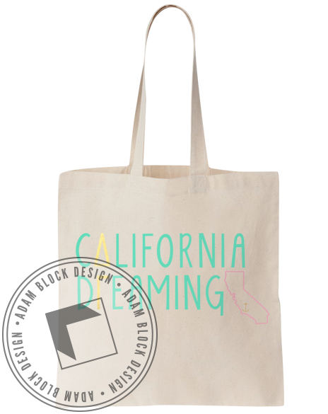 Delta Gamma California Tote-gallery-Adam Block Design