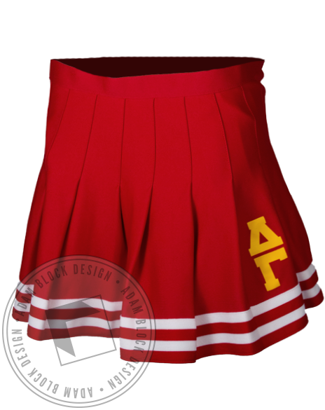 Delta Gamma Cheerleader Skirt-gallery-Adam Block Design