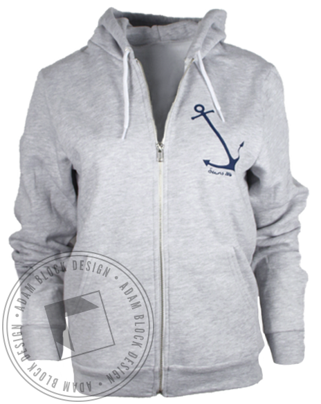 Delta Gamma College Hoodie Sweatshirt-gallery-Adam Block Design