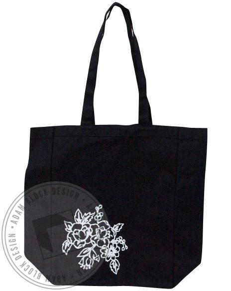 Delta Gamma Flower Tote-gallery-Adam Block Design