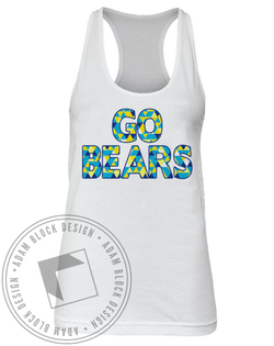 Delta Gamma Go Bears Tank-Adam Block Design